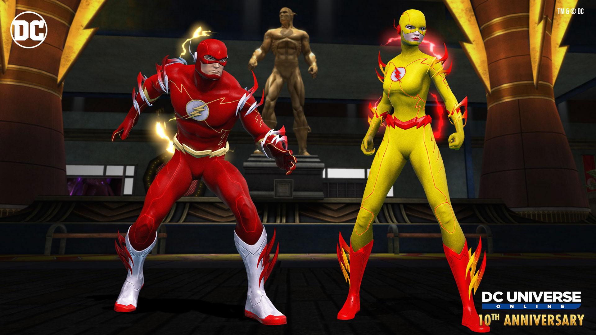 DC 10th Anniversary Costumes