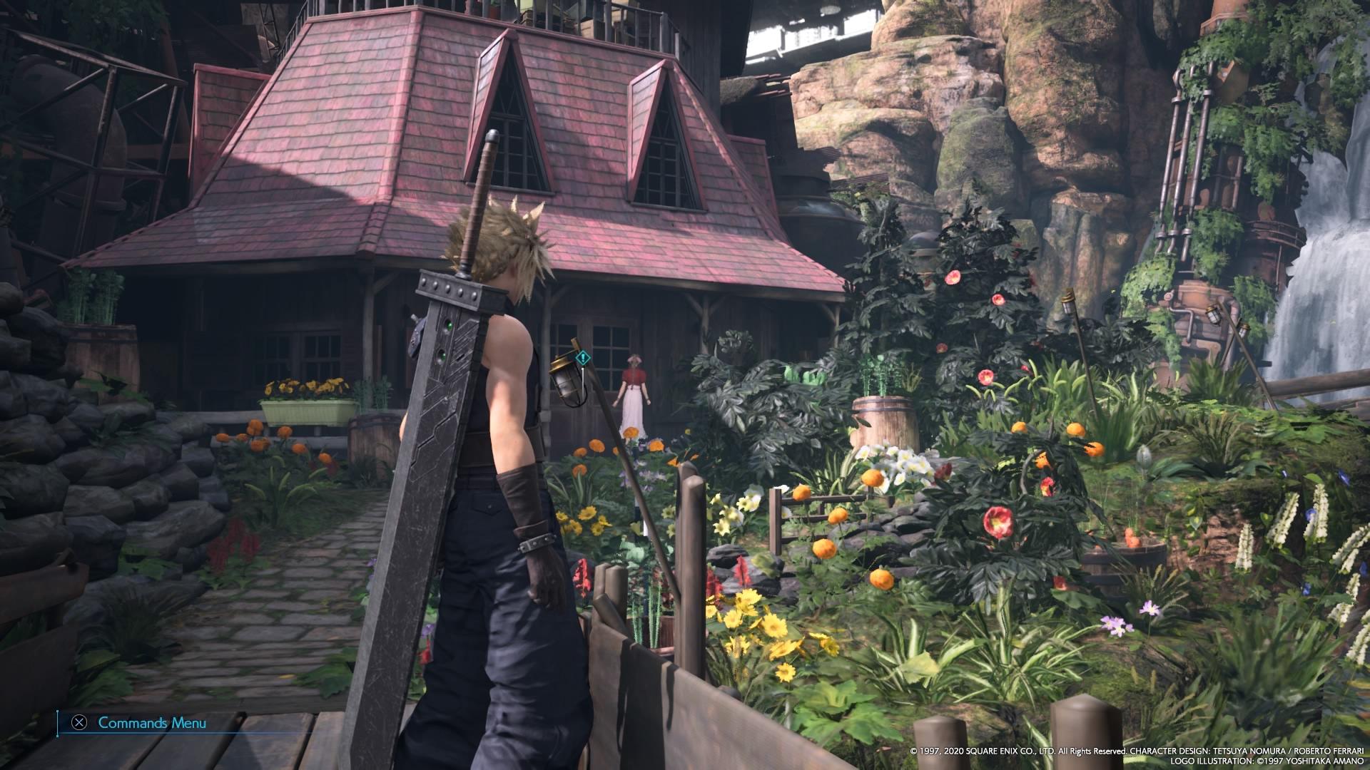 Final Fantasy VII Remake Aerith's house