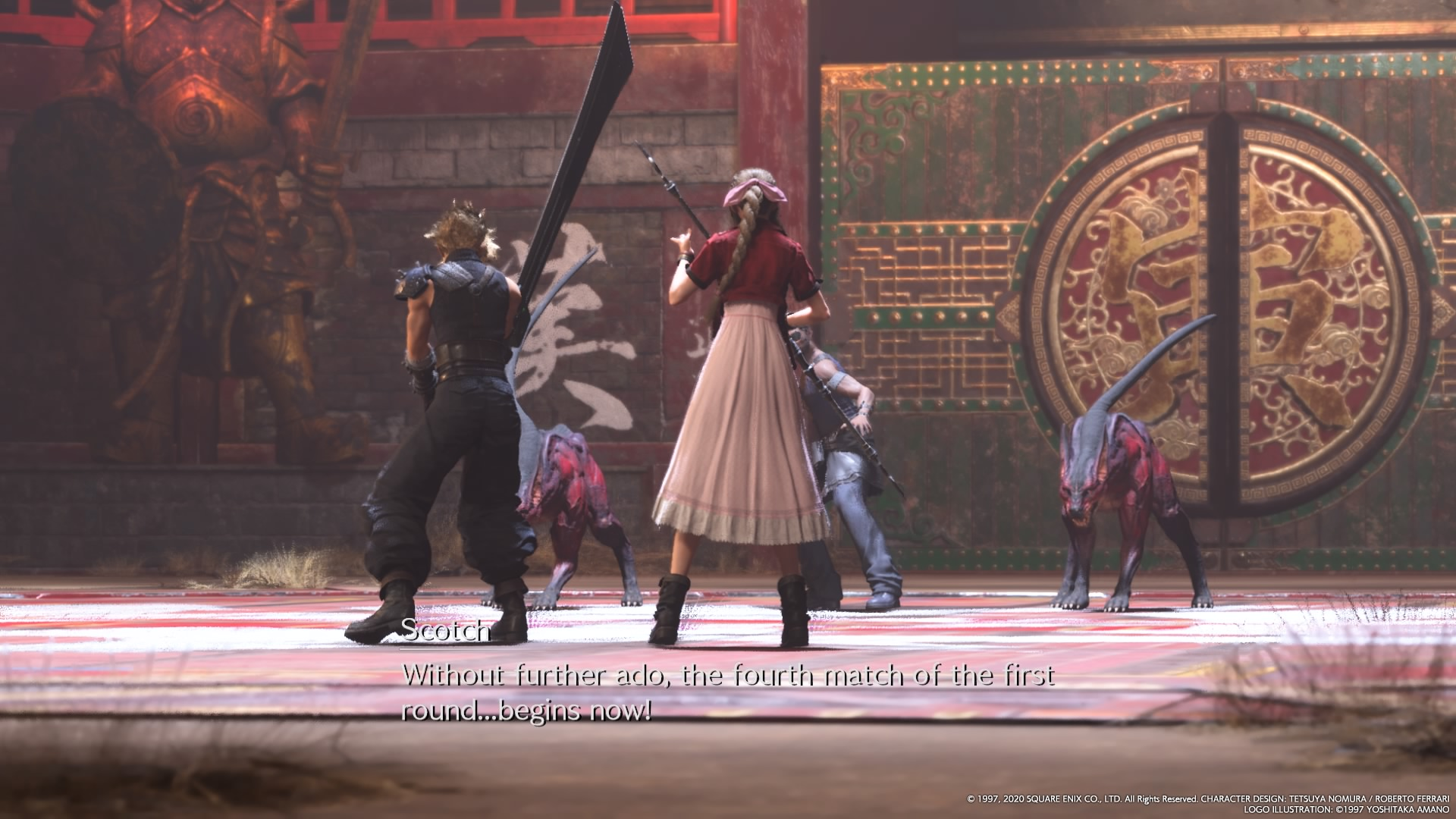 Final Fantasy VII Remake Battles
