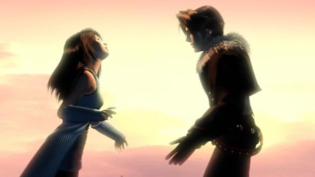 Final Fantasy VIII Squall and Rinoa