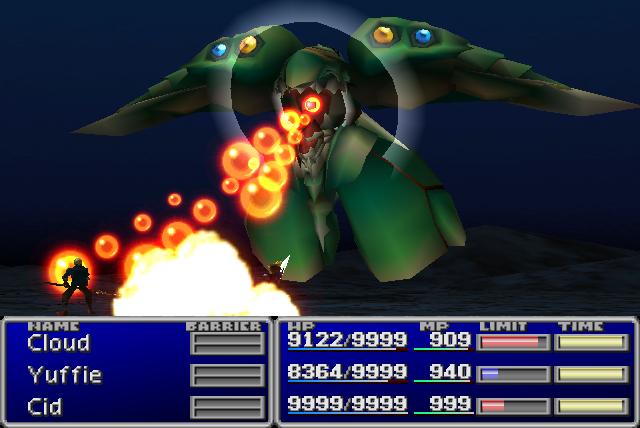 Final Fantasy Emerald weapon