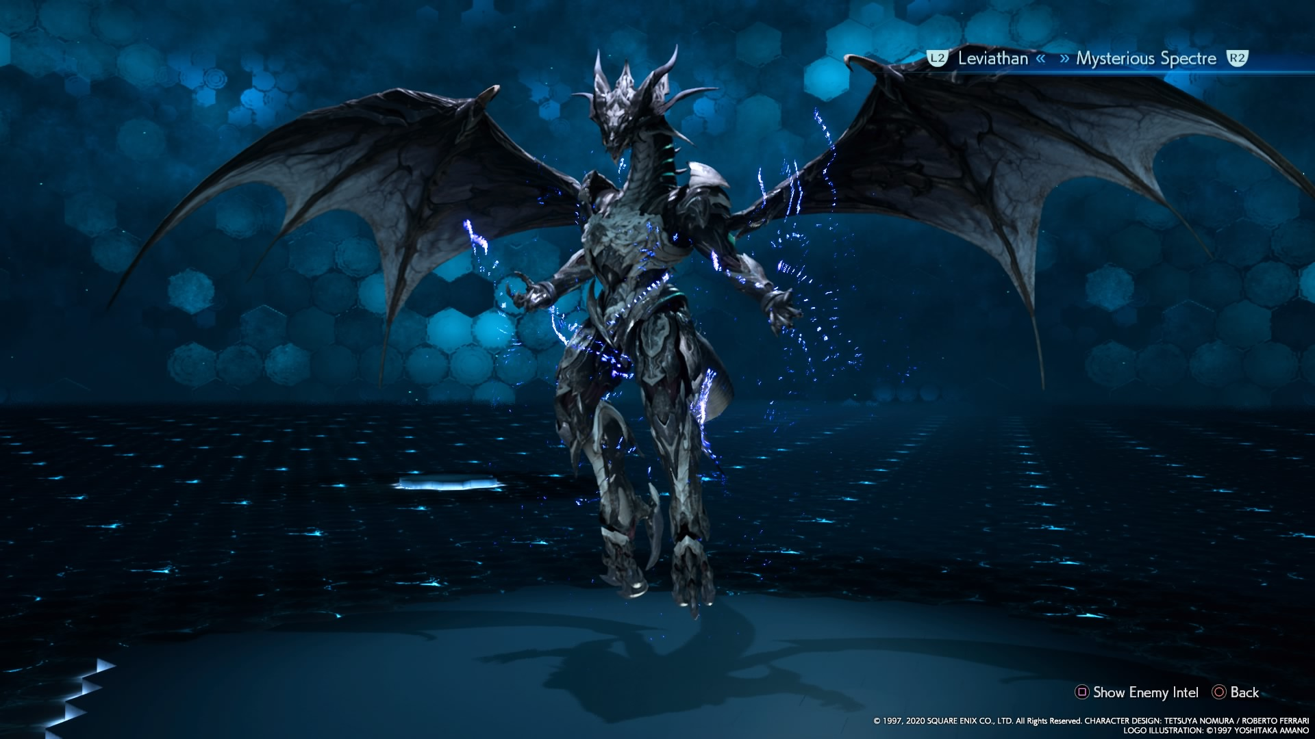 Bahamut summon sequence Final Fantasy VII Remake