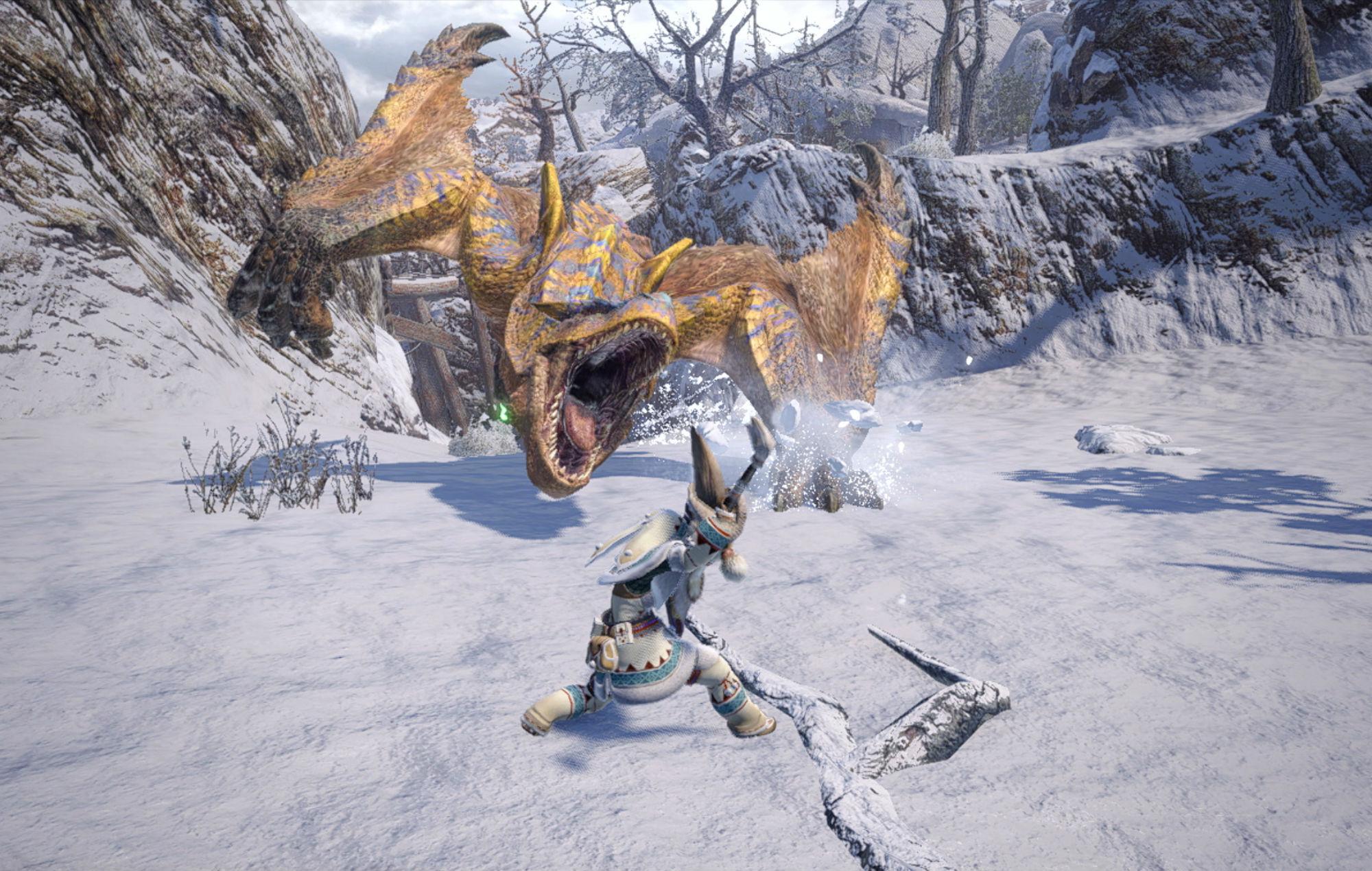 Monster Hunter Rise/ Monster Hunter: World article