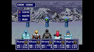 Sega Genesis Phantasy Star IV
