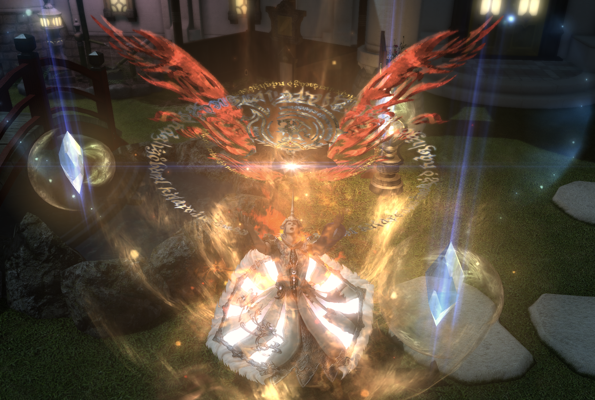 Phoenix summon sequence Final Fantasy XIV
