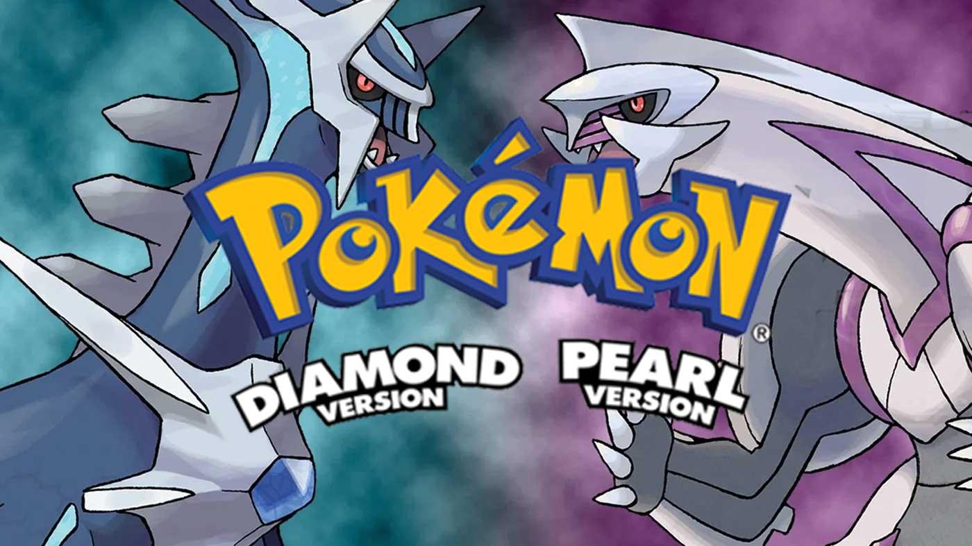 Pokemon Diamond Pearl cover