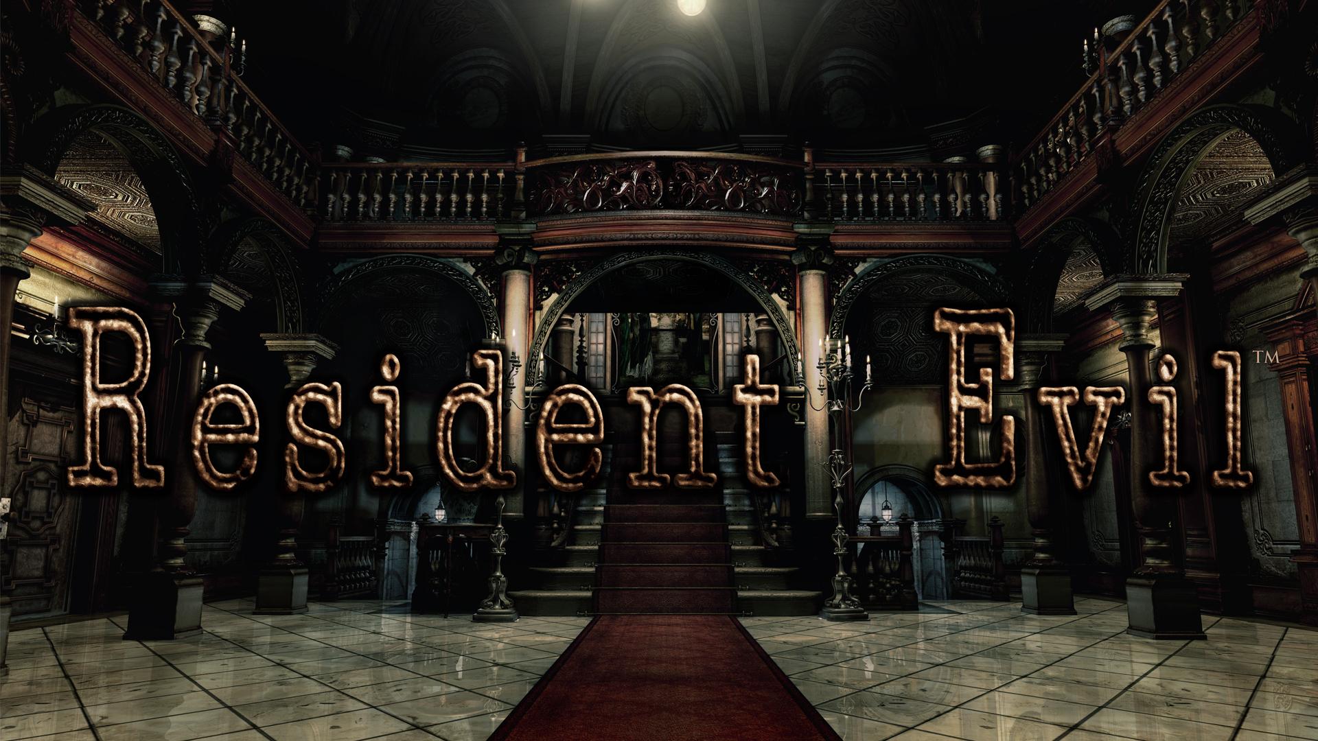 Resident Evil Remake Logo
