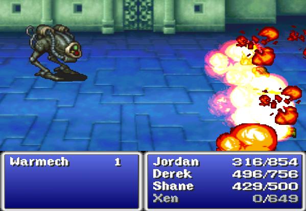 Warmech Final Fantasy