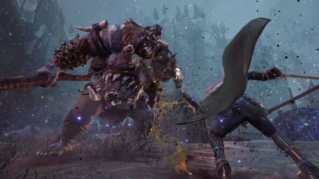 Shows combat from Dark Alliance