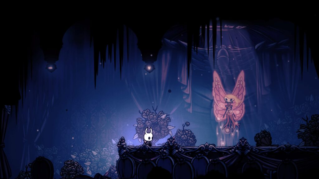 Hollow Knight with the spirit of Marissa
