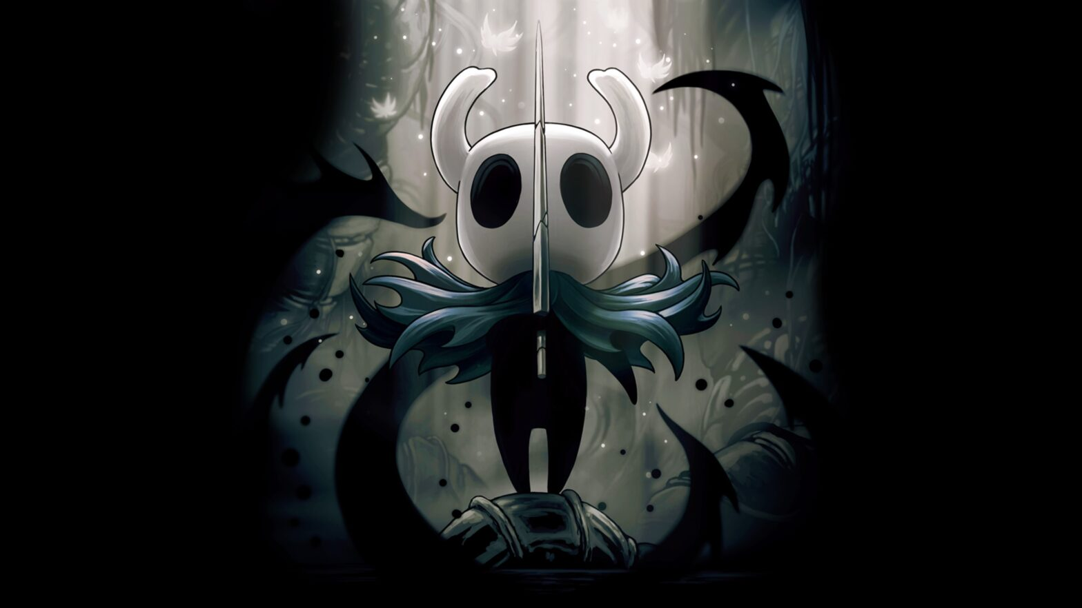 Hollow Knight Opening Artwork
