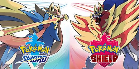 cover art for pokemon sword and pokemon shield
