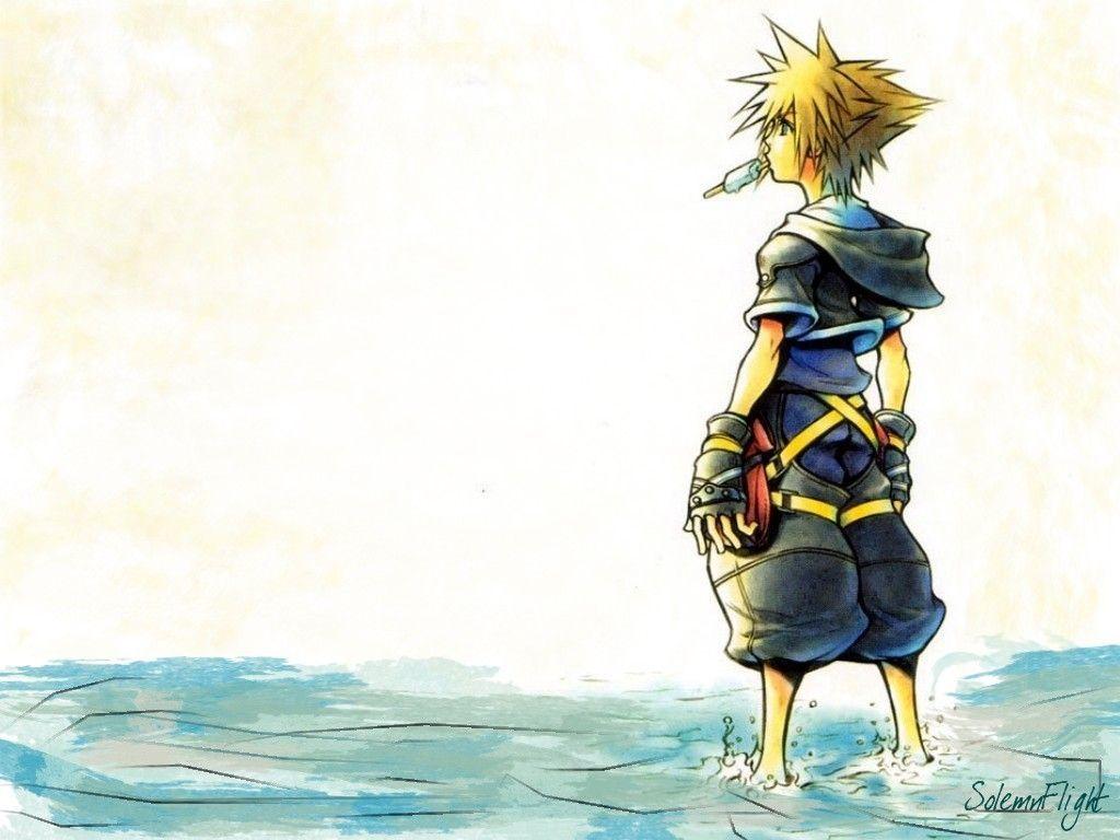 Sora in Kingdom Hearts