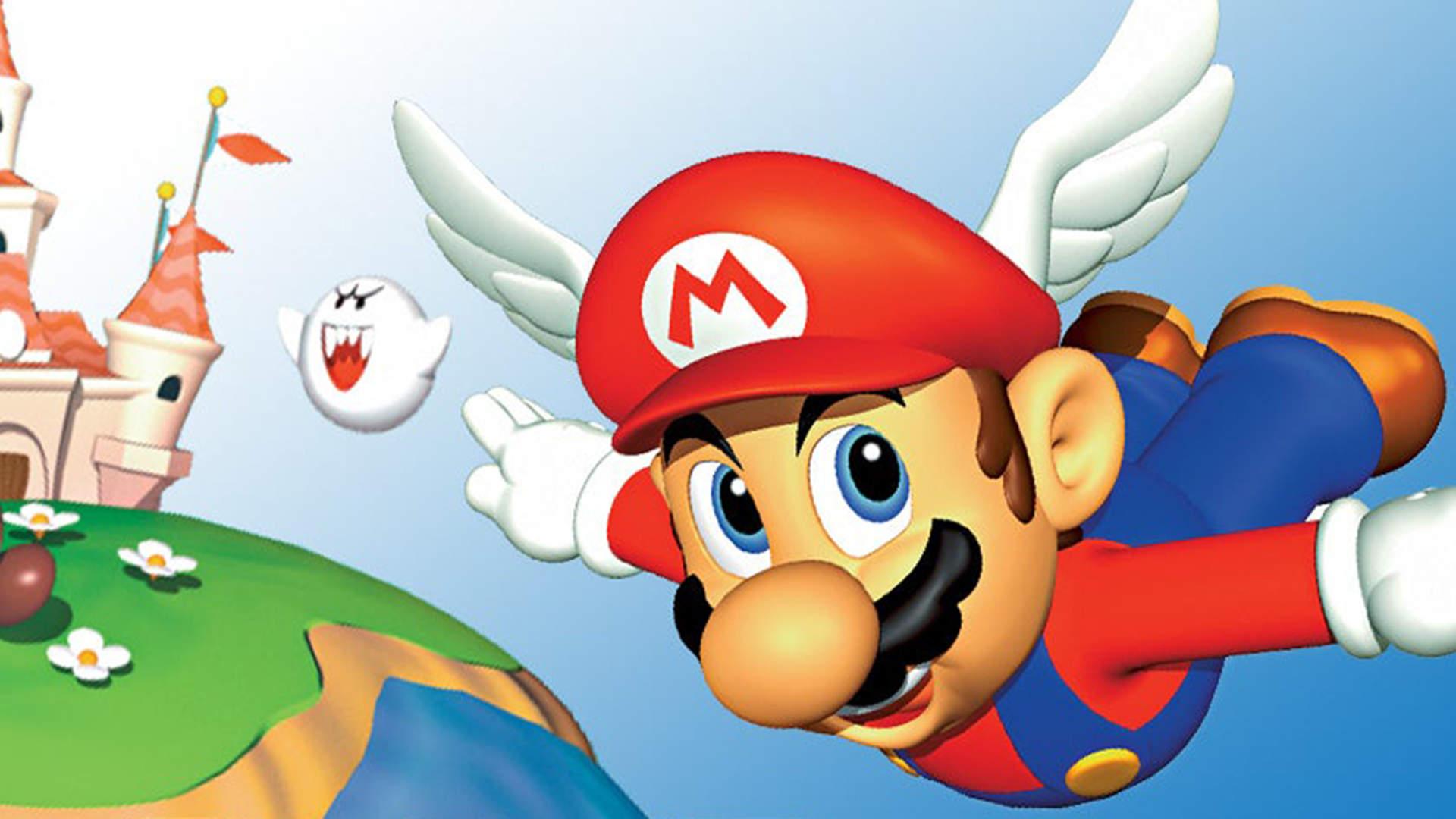 Super Mario 64 cover