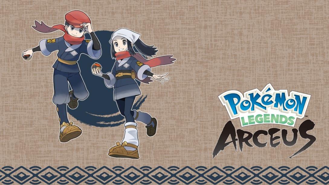 Pokémon legends Arceus wallpaper
