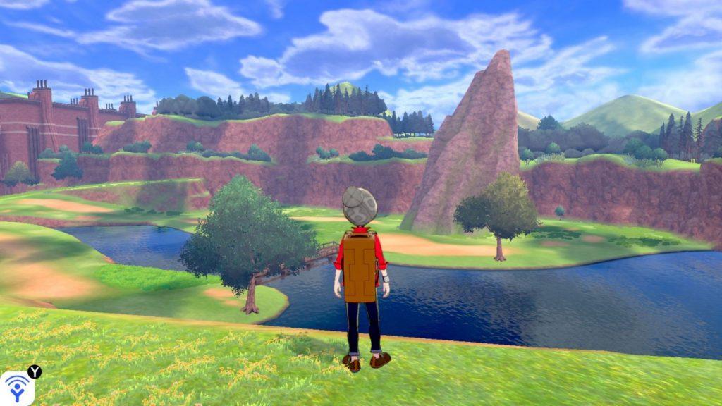 Pokémonsword and shield wild area