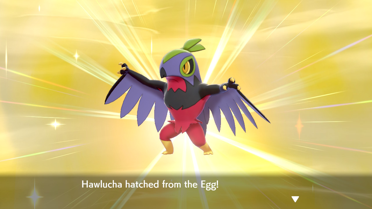 Shiny Hawlucha