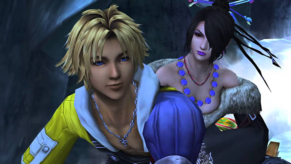 Tidus and Lulu from Final Fantasy X