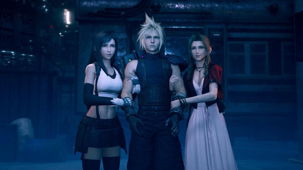 Tifa Cloud and Aerith Final Fantasy VII Remake