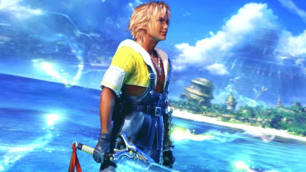 Final Fantasy X on PlayStation 2