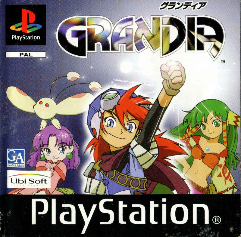 Grandia JRPG PlayStation