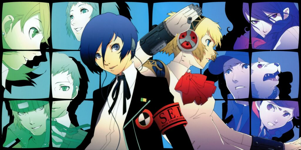 Persona 3 on PlayStation 2