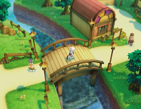 Tales of Legendia town