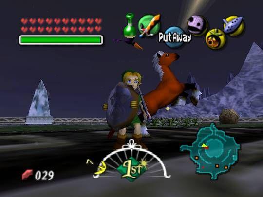 Majora's Mask Nintendo 64