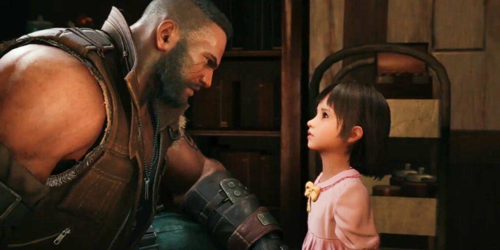 Barret and Marlene Final Fantasy VII