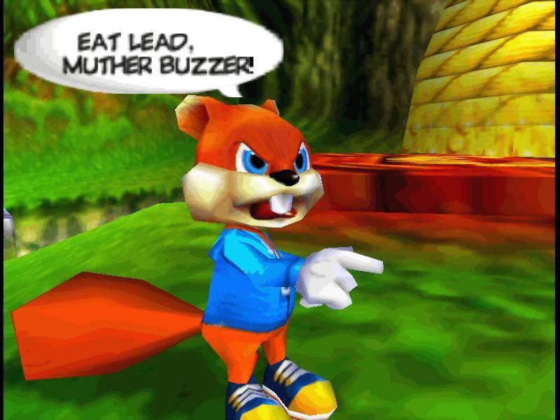Conker Top Nintendo 64 games