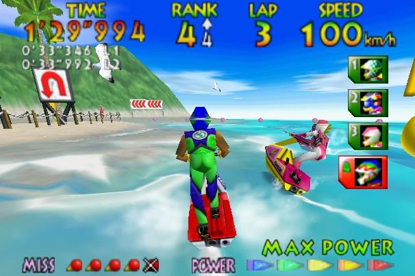 Top Nintendo 64 games Wave Race