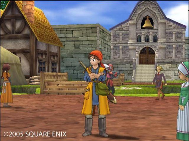 Dragon Quest XII article DQVIII shot