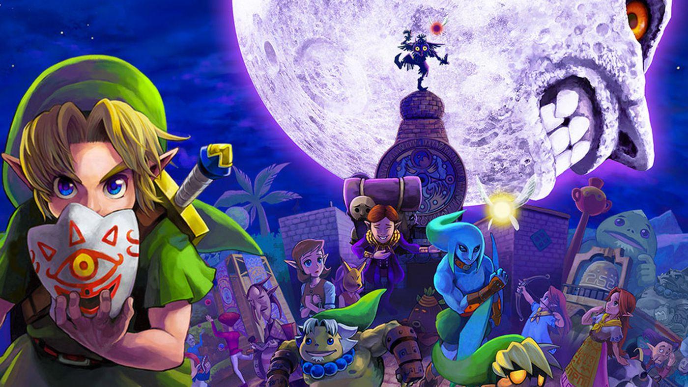 Majora's Mask Nintendo 64 Top