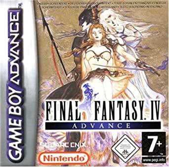 Final Fantasy IV Advance Game Boy Advance