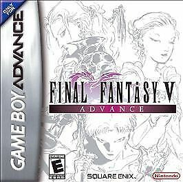 Final Fantasy V Advance Game Boy Advance