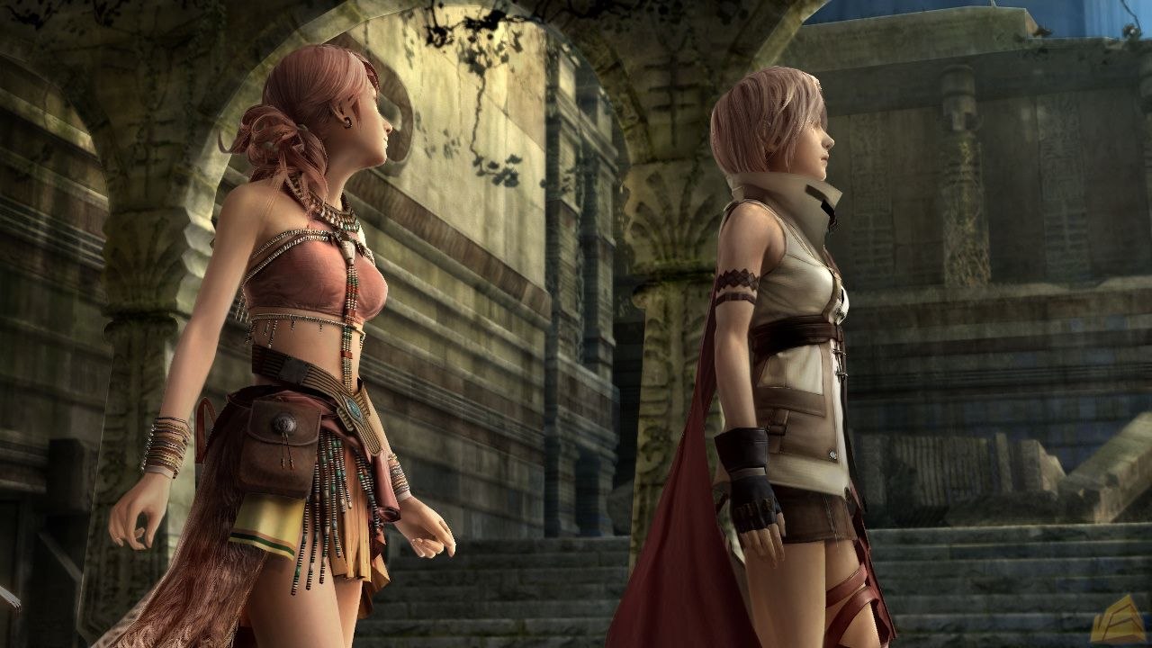 Vanille and Lighting Final Fantasy XIII