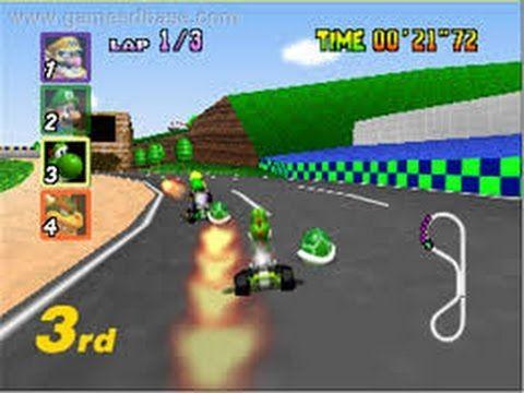 Mario Kart Top Selling Nintendo 64 Games