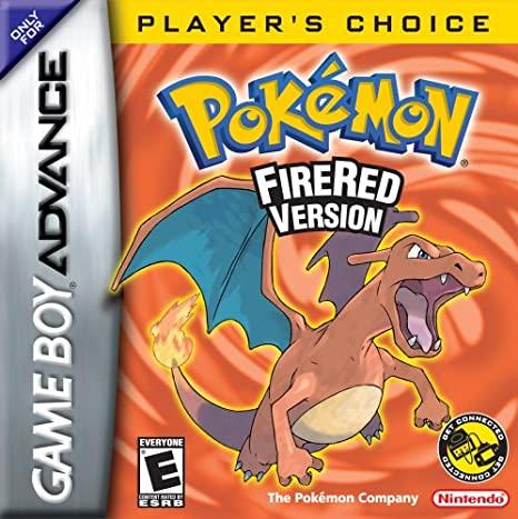 Pokemon FireRed Version Game Boy Advance