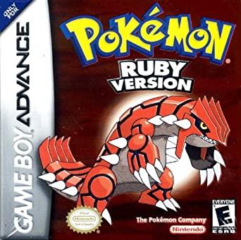 Pokemon Ruby Version Game Boy Advance