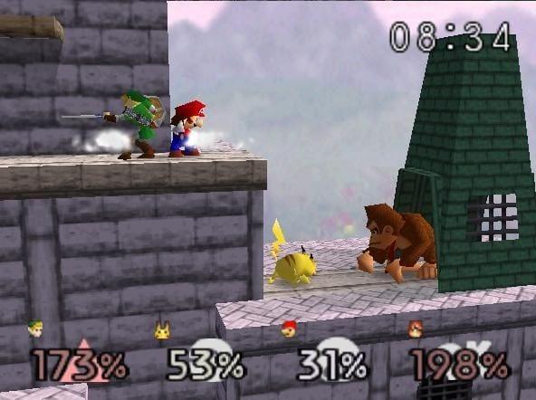 Super Smash Bros Top Selling Nintendo 64 games