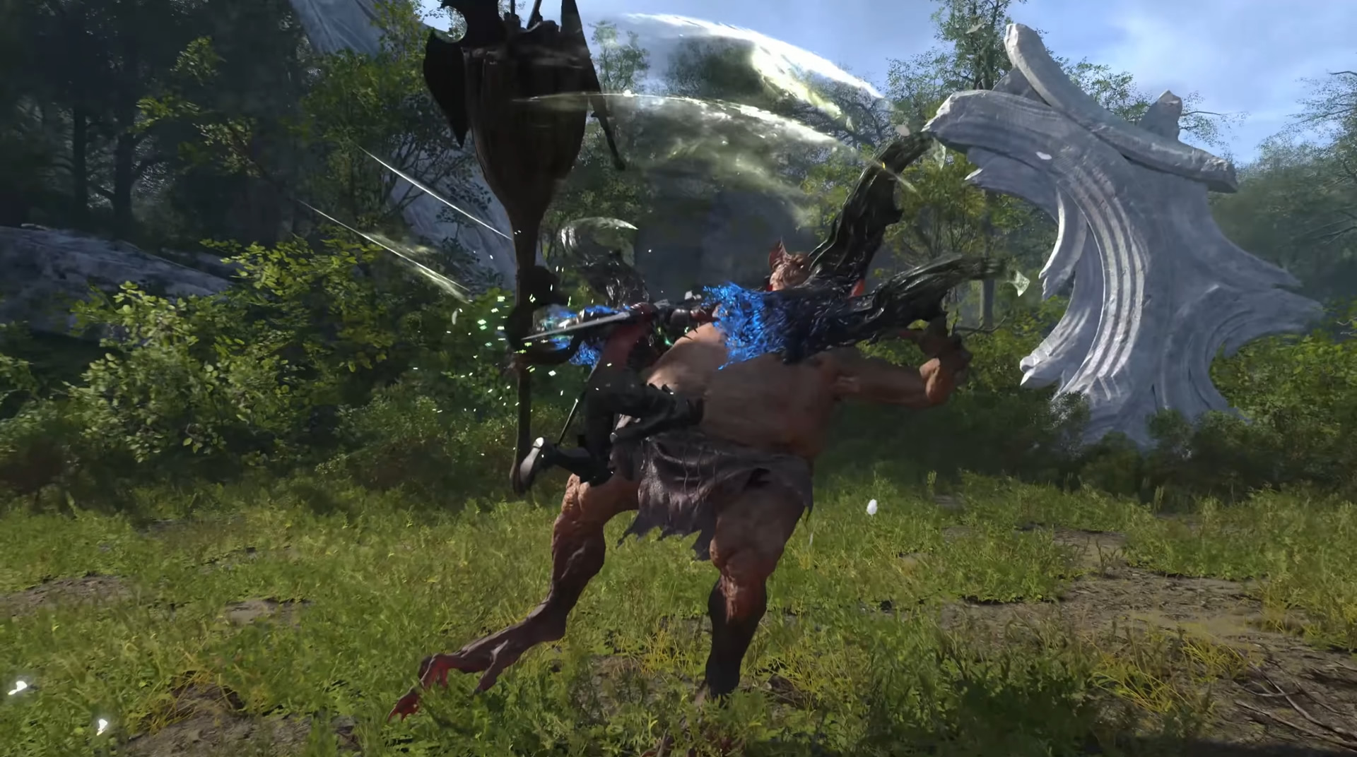 Final Fantasy XVI screen