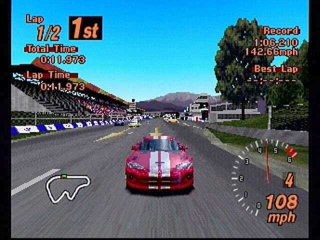Gran Turismo 2 viper Top Selling PlayStation Games