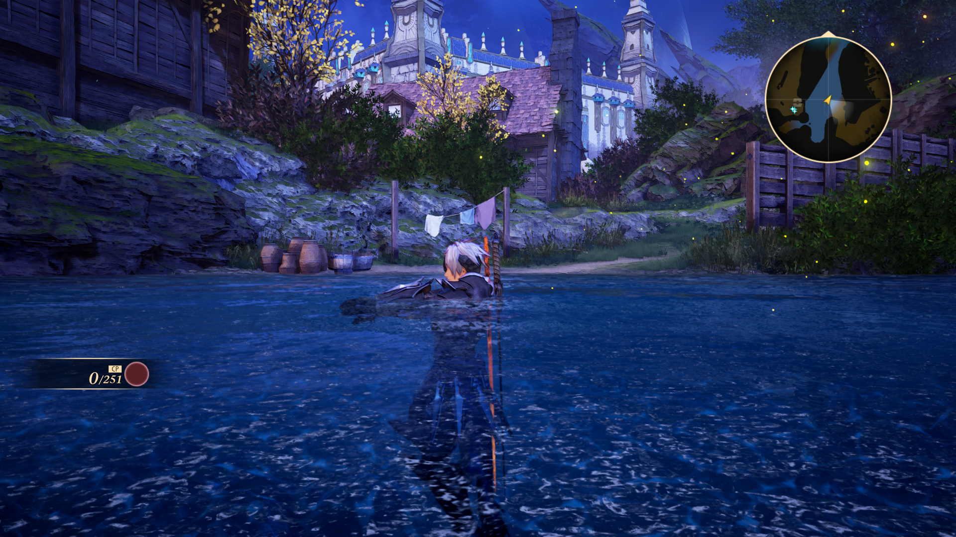 Tales of Arise Swimming