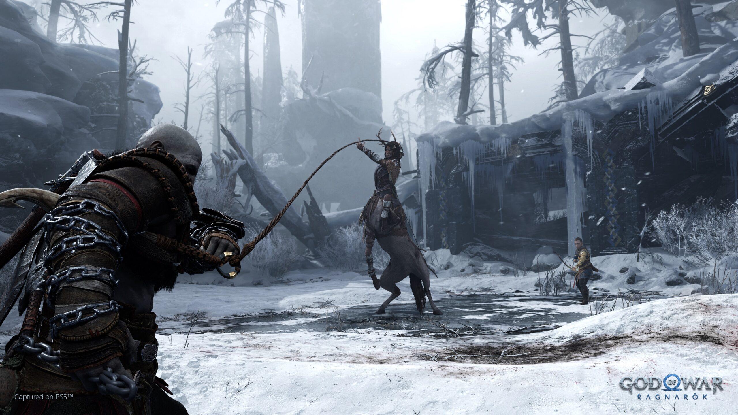 Combat God of War Ragnarok