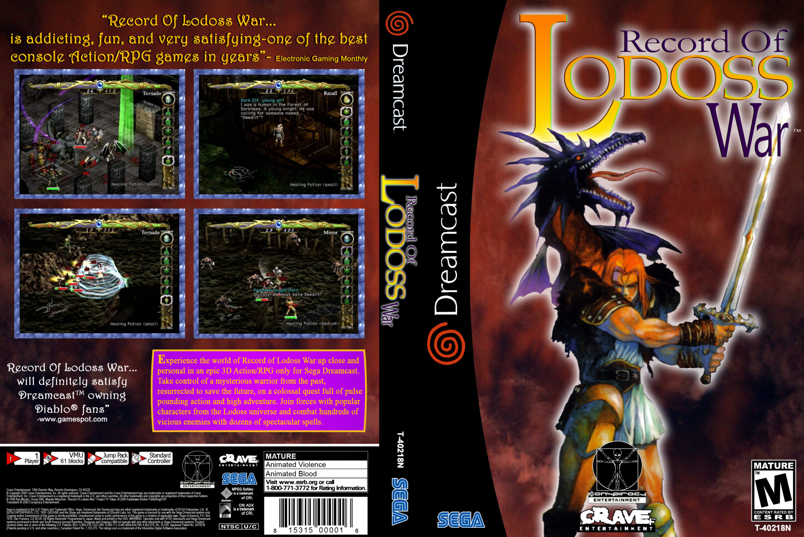 Record of Lodoss War cover