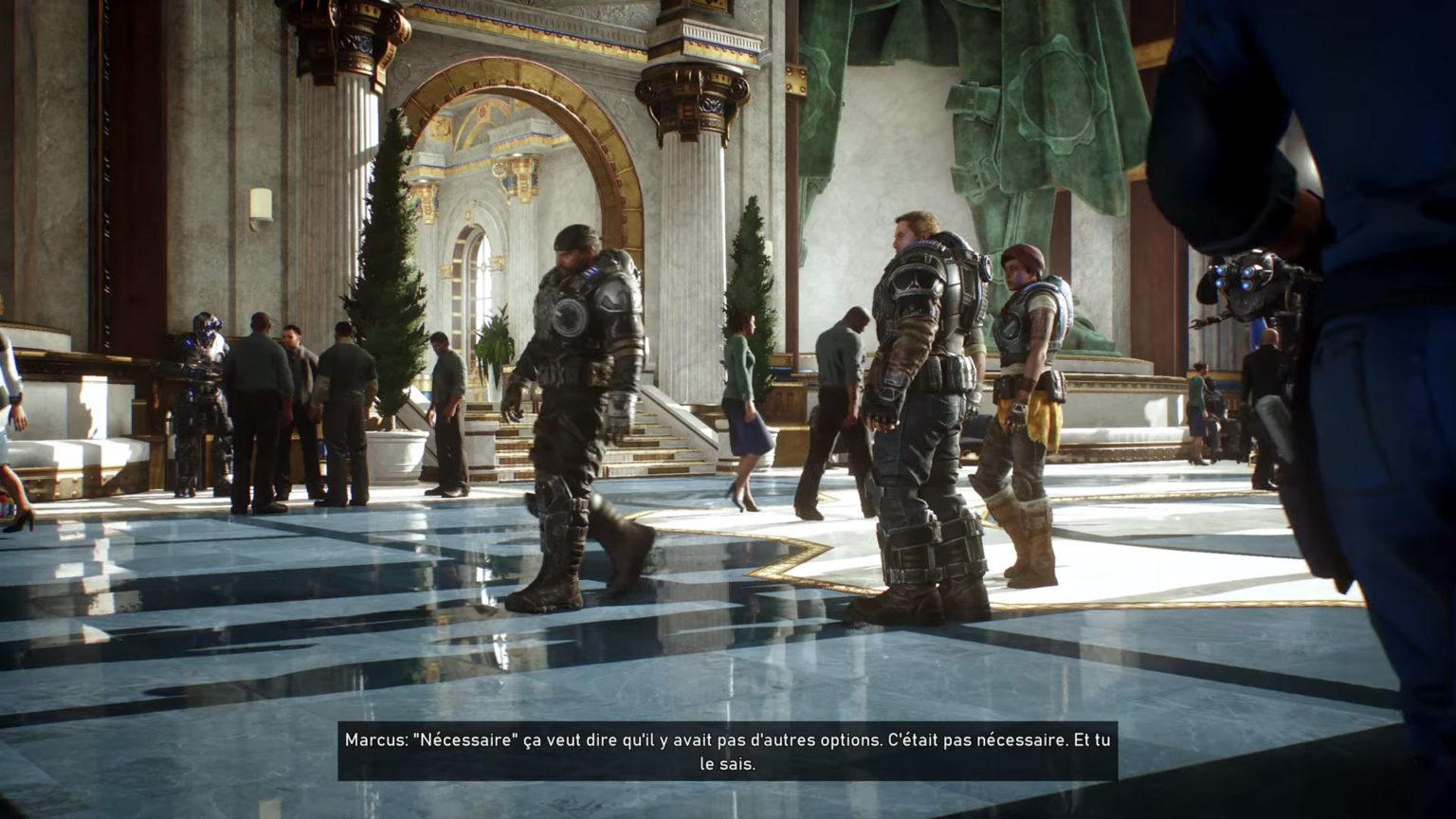 Gears 5 Cross-Generation games
